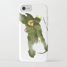 Green Arrow Minimalist Splash Poster  iPhone 7 Slim Case