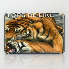 Tongue In Cheek iPad Case