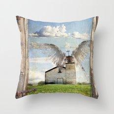 Archangel Azrael Throw Pillow