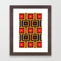 airport lounge Framed Art Print