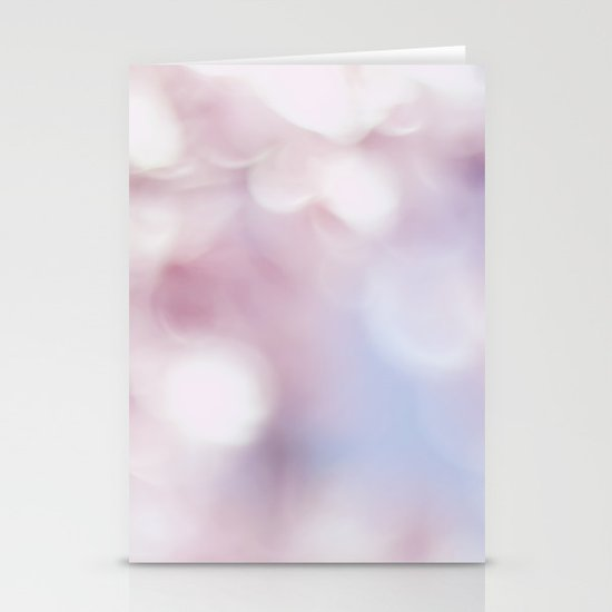 Blossom bokeh Stationery Card