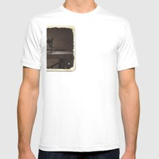 Pfaff Sewing Machine White Mens Fitted Tee SMALL