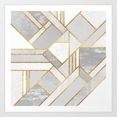 Gold City Art Print