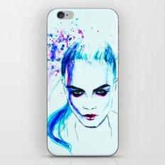 Cara as Laureline iPhone & iPod Skin