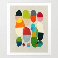 Jagged Little Pills Art Print