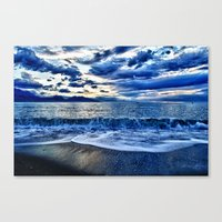 Sunrise Over The South P… Canvas Print
