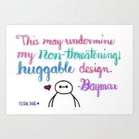 Huggable Design Art Print