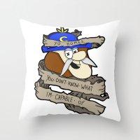 RIP Horatio Throw Pillow
