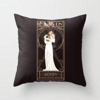 Jenny Nouveau - The Rock… Throw Pillow
