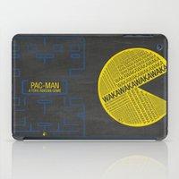 Pac-Man Typography iPad Case