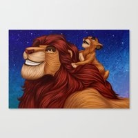 Lion King: Whenever You … Canvas Print