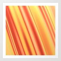 Orange One Art Print