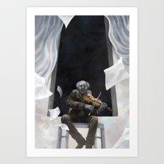Die Musik des Erich Zann Art Print