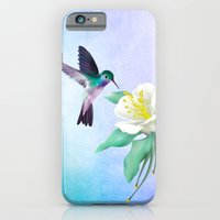 iPhone Cases featuring hummingbird. by haroulita