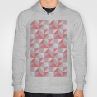 Peach Geometric; Hoody