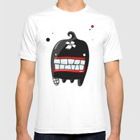 MONSTER 2 Mens Fitted Tee White SMALL