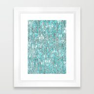 The Cold Never Bothered … Framed Art Print