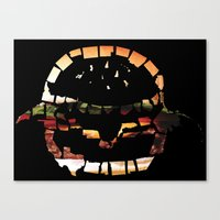 United States Of Burger Canvas Print