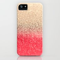 iPhone & iPod Case featuring GOLD CORAL by Monika Strigel