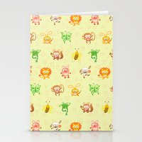 Baby Animals Stationery Cards