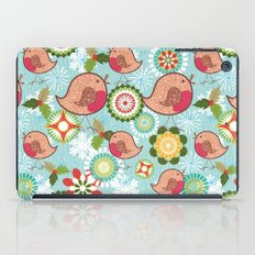 Xmas Robins iPad Case