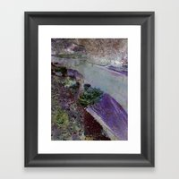 At The River Framed Art Print