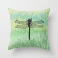 Dragonfly ~ The Summer Series Throw Pillow