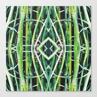 50 Shades of Green (6) Canvas Print