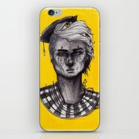 Seen in Yellow iPhone & iPod Skin