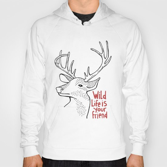 Wildlife is Your Friend Hoody
