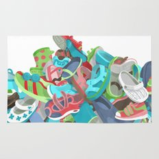 Tons of Shoes Rug
