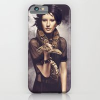 iPhone & iPod Case featuring Snake Charmer by Rebecca Handler