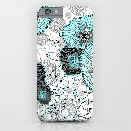 MYSTIC GARDEN MINT iPhone & iPod Case