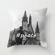 Soldier And Cathedral Throw Pillow