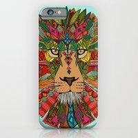 lion mint iPhone 6 Slim Case