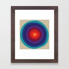 MCM Verner Framed Art Print