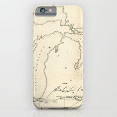 Railroad & The Northwestern States in 1850 Slim Case iPhone 6s