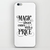 Magic Always Comes With … iPhone & iPod Skin