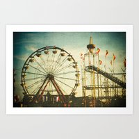 Carnival - Color Art Print