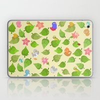 birds&leaves Laptop & iPad Skin