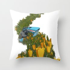 Kristene's Child Throw Pillow
