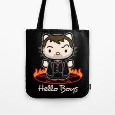 Hello Boys Tote Bag
