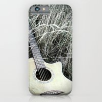 guitar iPhone & iPod Cases featuring Guitar by IrishSaint06