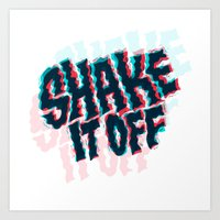 Shake It Off Art Print