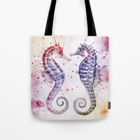 Guardians Of The Sea II Tote Bag