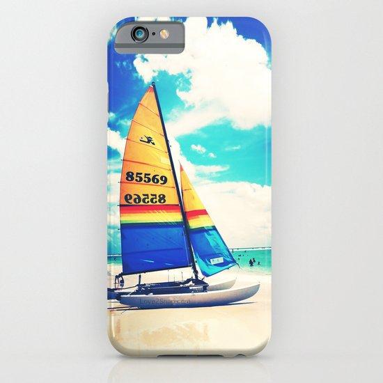Siesta Key, FL - Sailboat iPhone & iPod Case