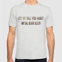 Let Me Tell You About Me… Mens Fitted Tee Silver SMALL