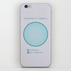 Everything Is Chemicals iPhone & iPod Skin