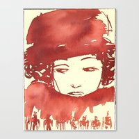 Lady-2 Canvas Print