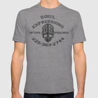SE Mens Fitted Tee Tri-Grey SMALL